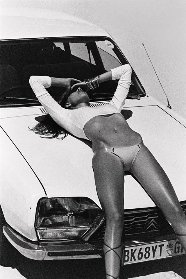 There was a time, when Citroen made premium cars. #citroen #girl #vintage
