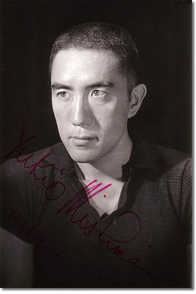 ○三島由紀夫決起・自決から41年(s45/11/25) Amazing signed photo of Yukio Mishima, dated 1966-9-20