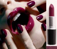 1 unids superventas mc maquillaje de la marca a prueba de agua mc lápiz labial mate barras de labios belleza batom bastones compañero