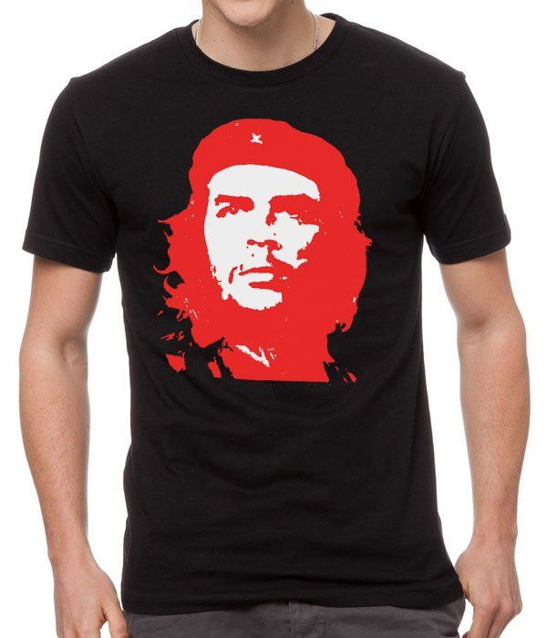 Gift+For+Men+Chef+Che+Guevara+Black+T-Shirt