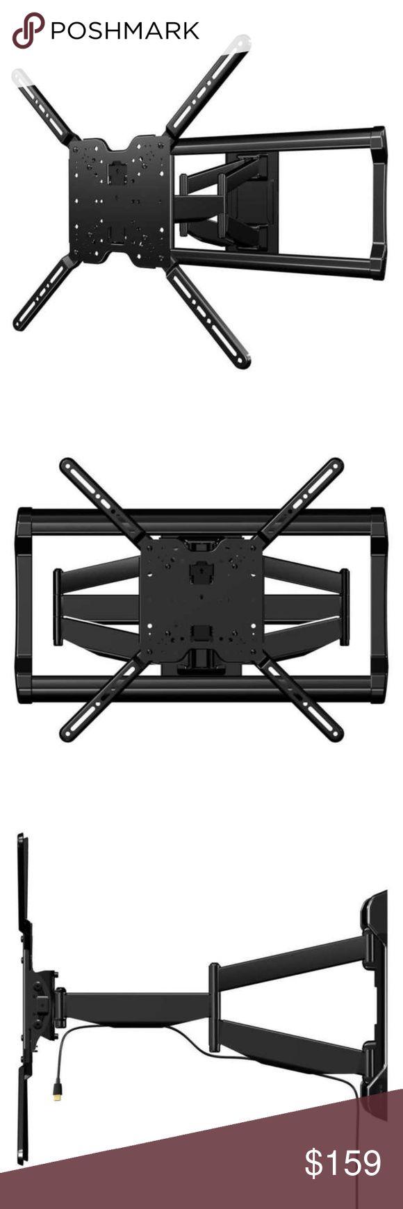 Best Sanus full motion tv wall mount fits nwt