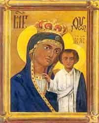 Список Каплуновской Казанской иконы Божией Матери
