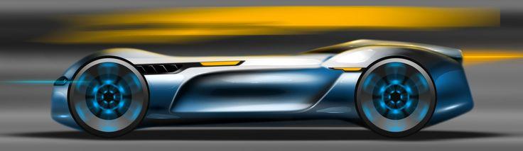 volkswagen concept sketch photoshop side Alessandro_Zanotti