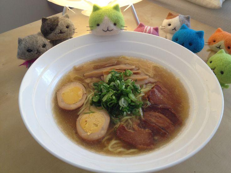 MitchiriNeko with Japanese Ramen http://www.ezokitchen.co.jp/results/instant_noodle/