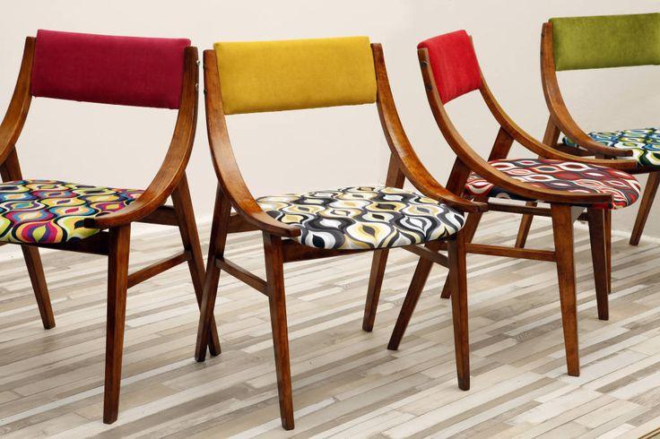 Krzesło Żółty Skoczek, lata 60. (de Lata 60-te)
