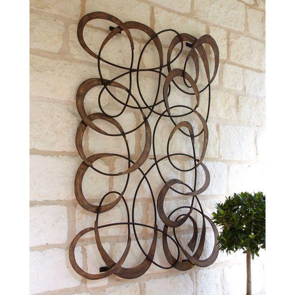 Horchow Mingling Circles Wall Decor. Outdoor WallsOutdoor Metal Wall ArtOutdoor  ...