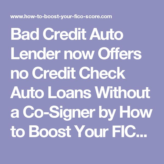 Best 20+ Loans Without Credit Check Ideas On Pinterest