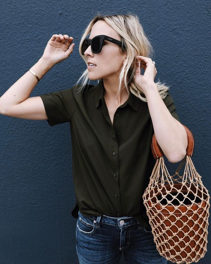 For those days when you're on the run, our Rayon Short Sleeve Blouse will make your style appear effortless. @damselindior