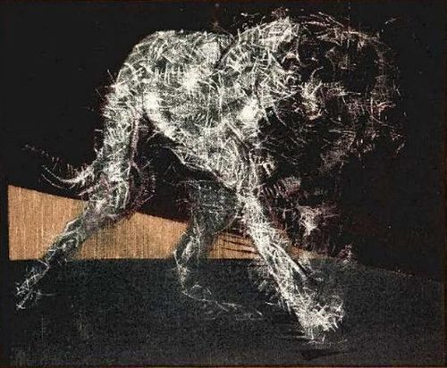 Francis Bacon, Painting of a Dog 1952