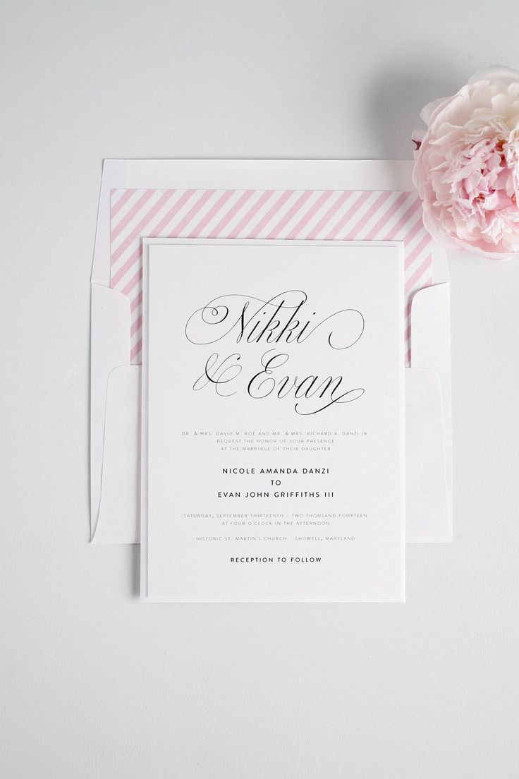17 Best Wedding Invitations Images On Pinterest Bridal Invitations