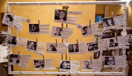 Tableau de Mariage – Polaroid