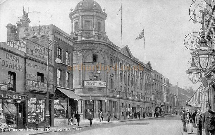 The Coronet Theatre, Notting Hill Gate in 1904