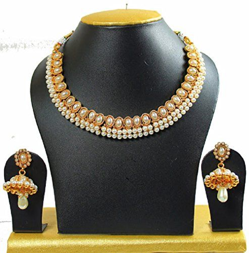Indian Bollywood Stylish White Pearls Gold Plated Necklac... https://www.amazon.com/dp/B01KT2QXWW/ref=cm_sw_r_pi_dp_x_CXKZybVWBF635