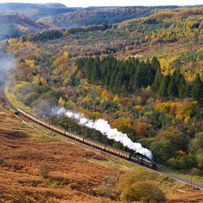 The North Yorkshire Moors Railway: Whitby to Pickering. Find this and more great train journeys in Europe at Redonline.co.uk
