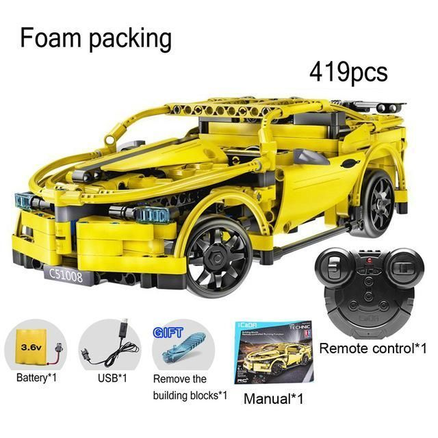2.4G RC Car Remote Control Blocks Building Kit DIY Puzzle Assembley Radio Controlled Cars with Battery 10 minutes playing #radiocontrolledcars #radiocontroldiy