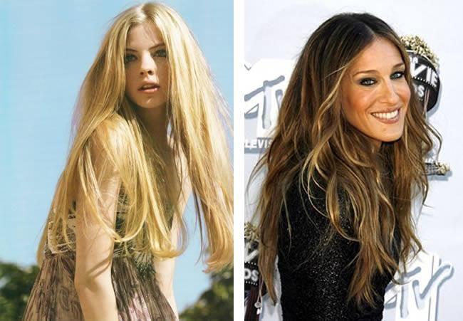 Uzun saç modelleri 2014