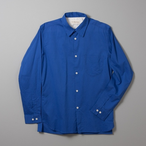 Universal Works Simple Shirt made with 100% lightweight cotton. $148