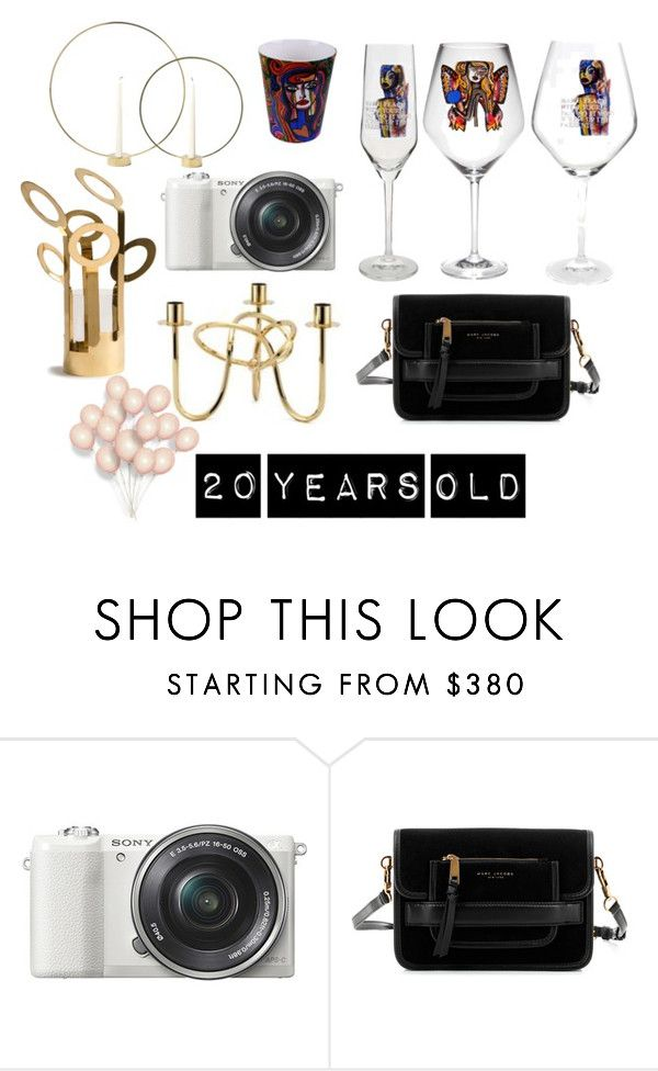 """""""20 years old"""" by majahellstrom on Polyvore featuring interior, interiors, interior design, home, home decor, interior decorating, Sony, Marc Jacobs and Klong"""