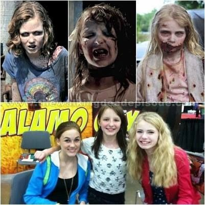 THE WALKING DEAD BEAUTIES. DEAD ON SCREEN. BEAUTIFUL OFF SCREEN.                                                                                                                                                                                 More