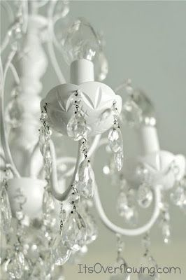Chandelier Makeover - Its Overflowing   Decor Ideas - DIY Projects - Photography Tutorials