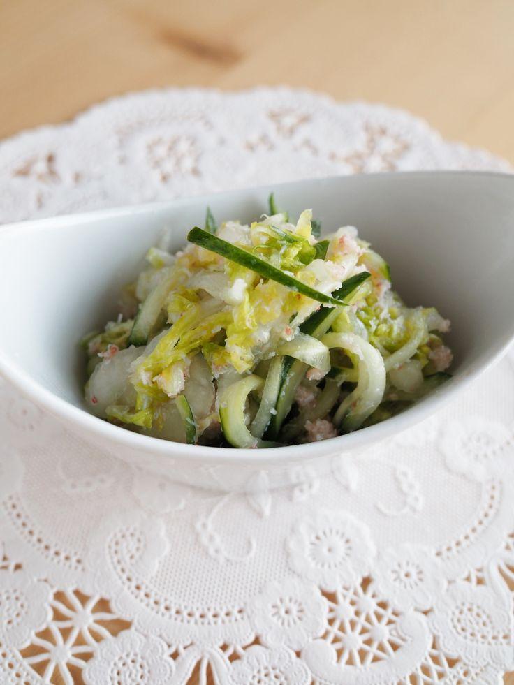 すし酢で簡単☆白菜とカニ缶のサラダ by 玉田 悦子 | レシピサイト「Nadia | ナディア」プロの料理を無料で検索