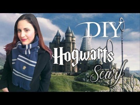 ϟ How To Make a DIY Harry Potter inspired Scarf ϟ