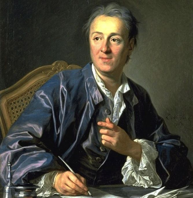 """NTK Enlightenment- This painting is of Denis Diderot, a French philosopher and writer. In Diderot's Encyclopedia he says """"The good of the people must be the great purpose of government... And the greatest good of the people is liberty."""" Many philosophers at the time believed in religious toleration, freedom of speech and of the press and the rights to private property. Above all the philosophers believed that enlightened rulers must obey the laws and enforce them fairly for all subjects."""