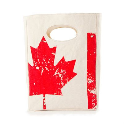 Fluf is based out of Toronto, Ontario and make organic cotton lunch bags, snack packs, back packs and more! Products are made in China and Canada. $19.00