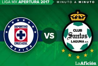 Cruz Azul vs. Santos Liga MX (2-1) GOLES - Milenio.com