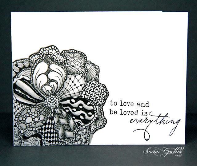 108 Best Zentangle Cards Images On Pinterest