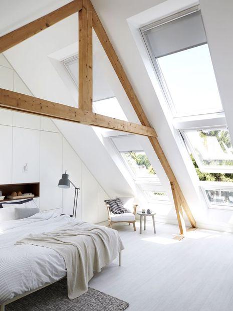 slaapkamer inspiratie schuin dak 01