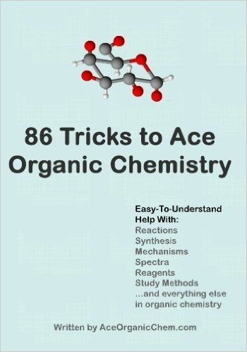 Learn the top 86 organic chemistry test tricks that your professors will not tell you. From how to ace synthesis problems, to little-known helpful reactions, to interpreting spectra, this book is designed to help organic chemistry students of all levels.