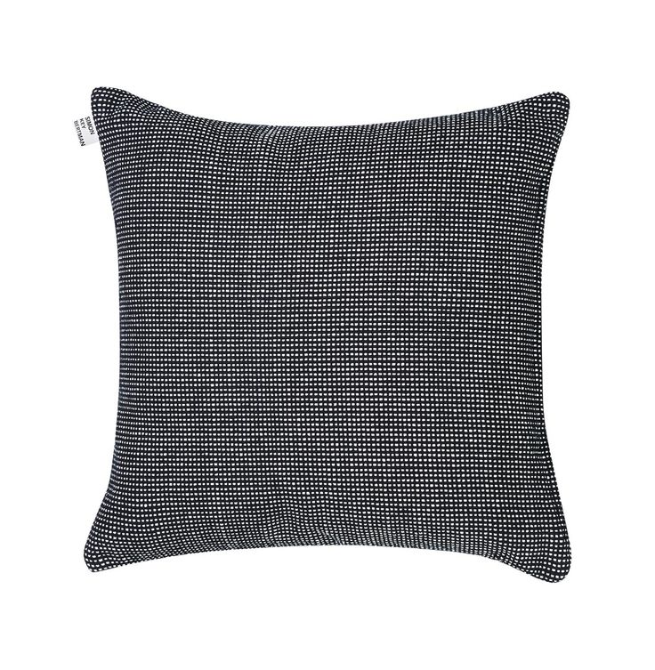 pillow-stripes & dots-fine & thick-black & white-cotton-65x65 cm A.jpg