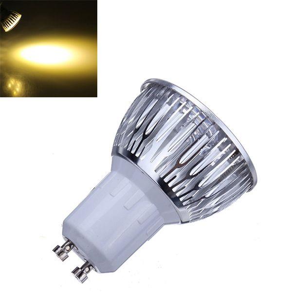3x Dimmable Gu10 9w 600lm Warm White Light Led Spot Bulb 220v Led Lights Led Spot Bulb