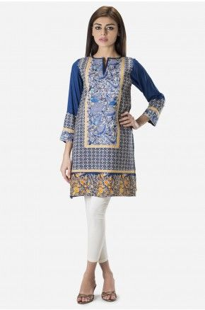 Embroidered Kurta Now available in stores and online. Shop online: www.khaadi.com
