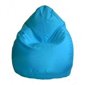 Dětský sedací vak (pytel) Amaki KID světle modrý polyester