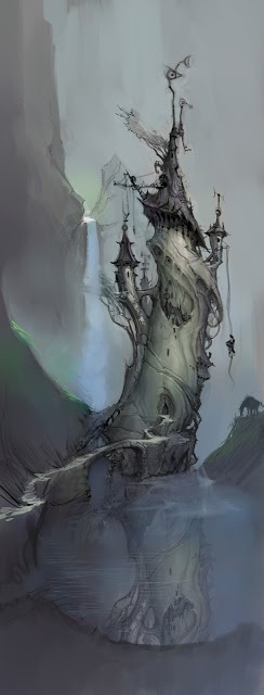 fantasy art wizard castle - photo #25