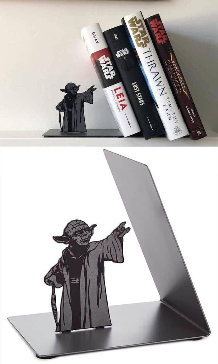 5 Star Wars Inspired Bookend Designs Serre Livres