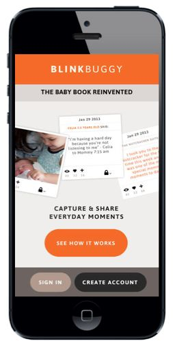 BlinkBuggy is a baby book for parents on the go -- if you are already snapping pictures of your kids on the go, upload it to blinkbuggy to organize those memories a little easier. App is free today!