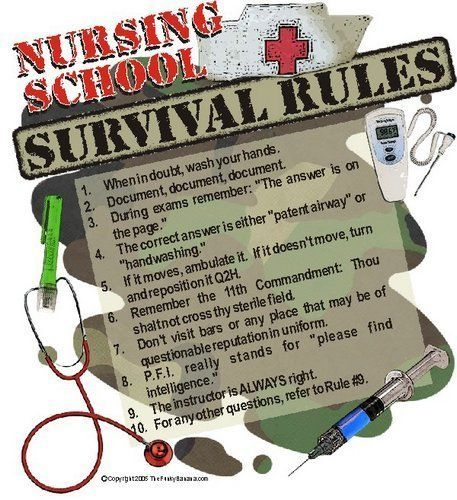 The life of a nursing student