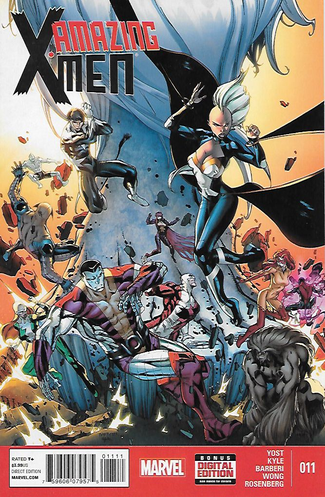 Amazing X-Men # 11 Marvel Now !