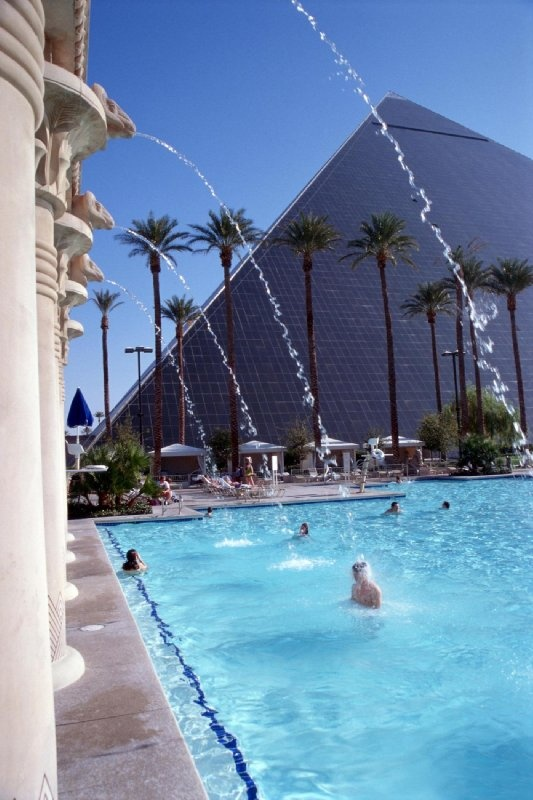 Luxor Las Vegas (stayed here the first time ryan took me to vegas)