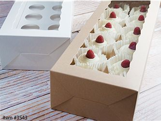 Standard Cupcake Boxes and Inserts