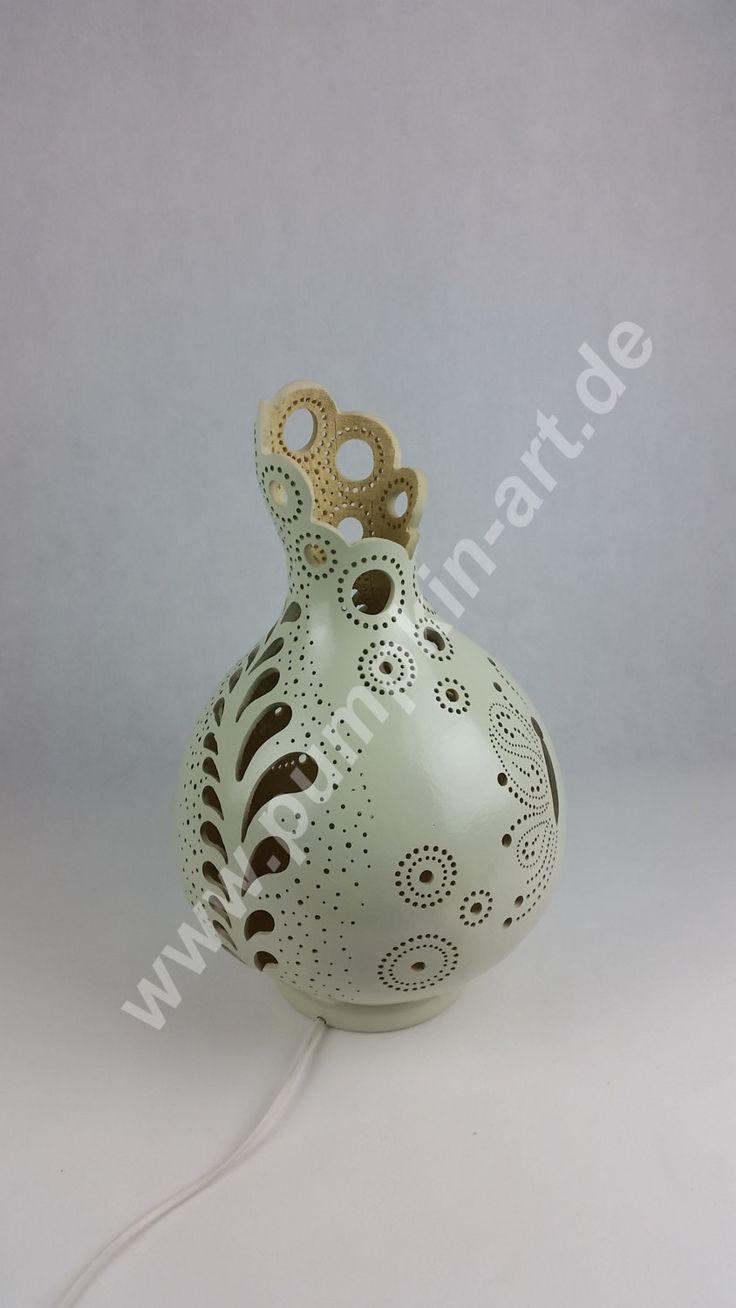 Lamp spiral gourd lamp unique gourd by AtelierPumpkinArt on Etsy