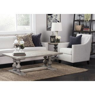 Shop for Wakefield Rustic Grey Reclaimed Pine Rectangular Coffee Table by Kosas Home. Get free shipping at Overstock.com - Your Online Furniture Outlet Store! Get 5% in rewards with Club O! - 20125122