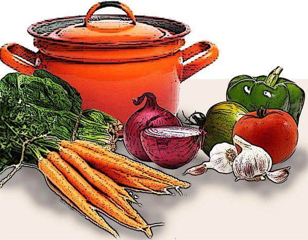 Esta elegante sopa puede preparse en minutos ; usted tiene los materiales que necesita a mano: un buen pan, queso Parmesano importado, huevos frescos y un caldo bien concentrado. Usted