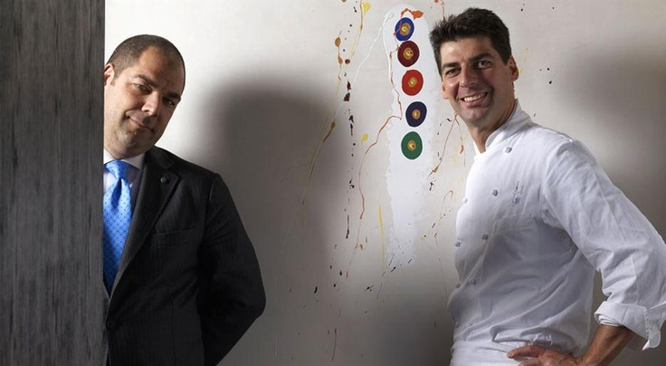 An interview with the Italian chef Massimiliano Alajmo