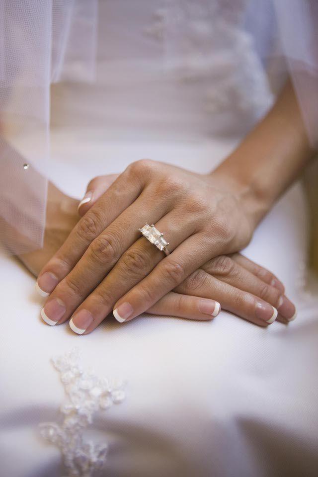 Wedding Nails - Stunning Wedding Day Nails