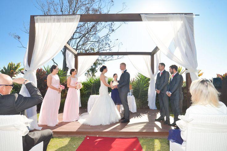 The wedding pavilion at Parkwood International