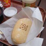 上野動物園 東園食堂 - チキンミルフィーユカツサンド
